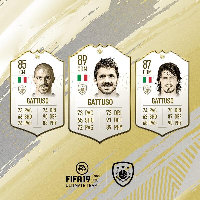 Rino Gattuso icona in FIFA 19 #ClassOf19