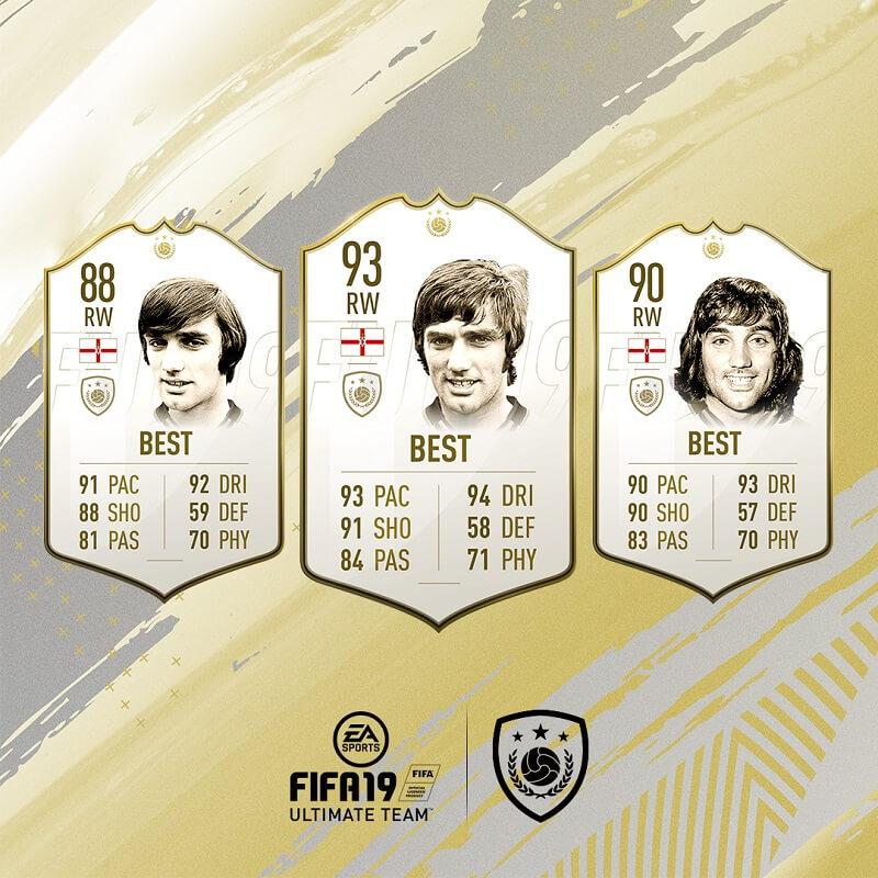 George Best icona in FIFA 19 #ClassOf19