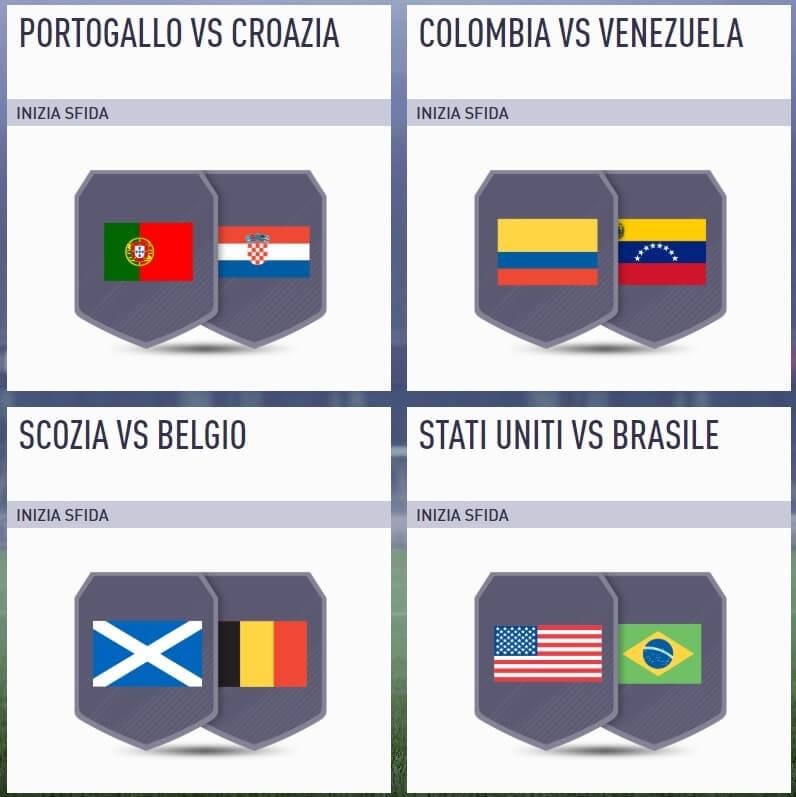 Sfida incontri principali della Nation League del 4 settembre su FIFA 18