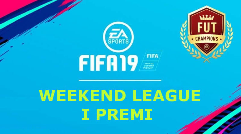 Premi della FUT Champions Weekend League in FIFA 19