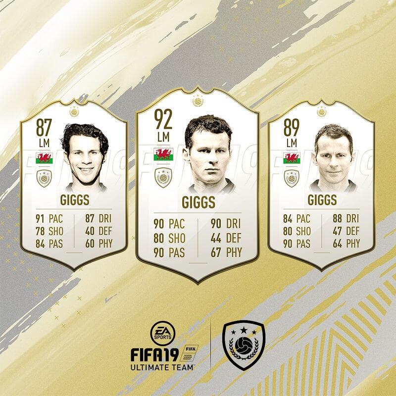 Ryan Giggs icona in FIFA 19 #ClassOf19