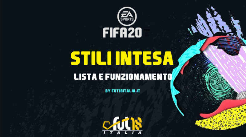 Stili intesa in FIFA 20 Ultimate Team