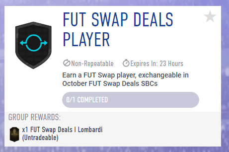 FUT Swap SBC player