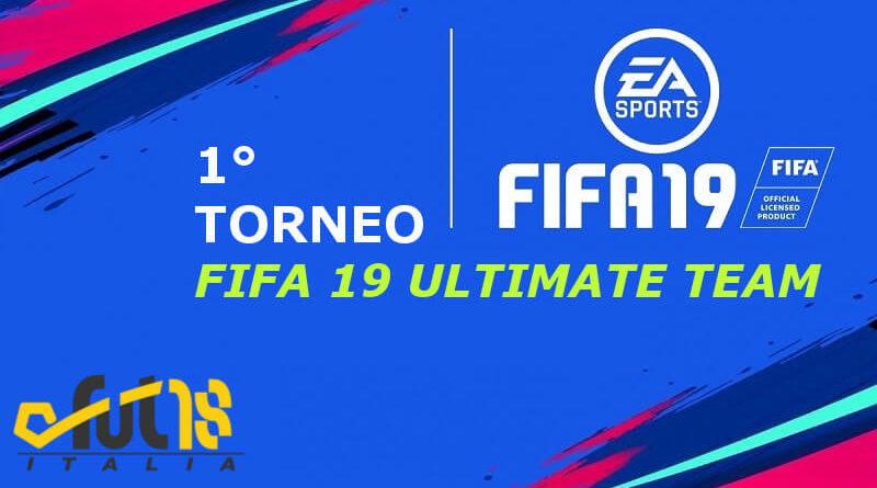 1° torneo di FIFA 19 Ultimate Team, oltre 150 euro in palio