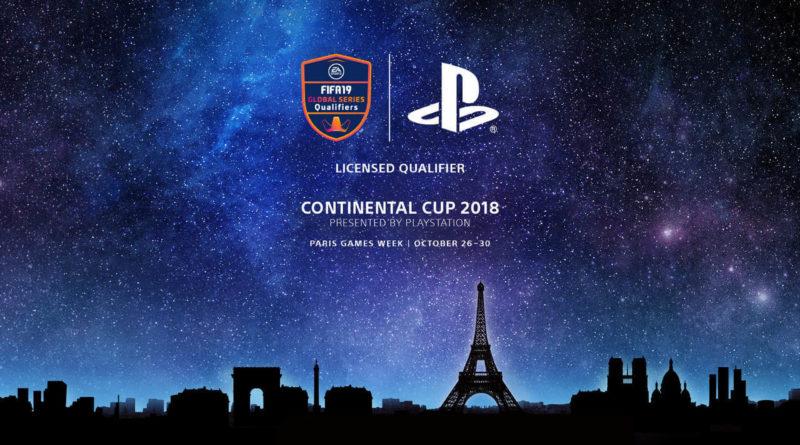 FIFA 19 Continental Cup 2018 al Paris Games Week