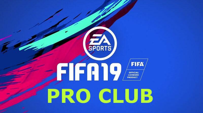 FIFA 19 PRO Club, è nata una collaborazione