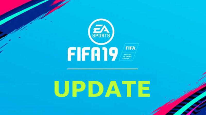 FIFA 19 update, i dettagli dell'aggiornamento