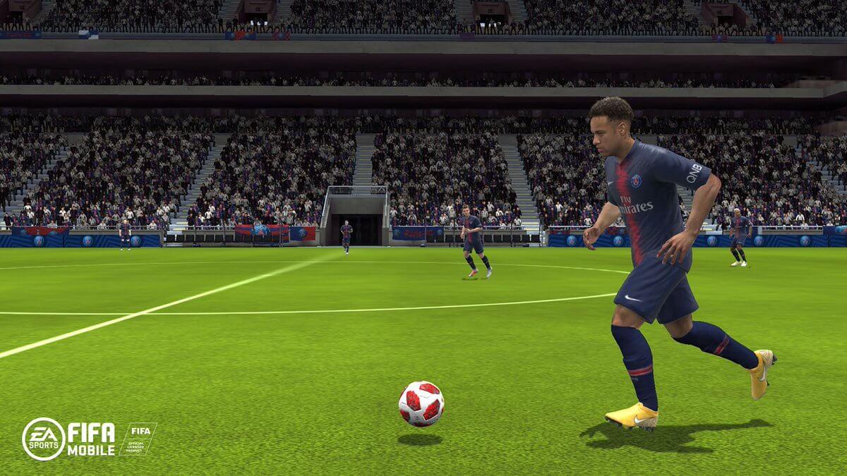 Neymar Jr su FIFA Mobile stagione 2019