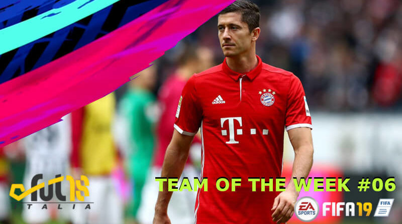 Lewandowski 91 nel Tema of the Week 6