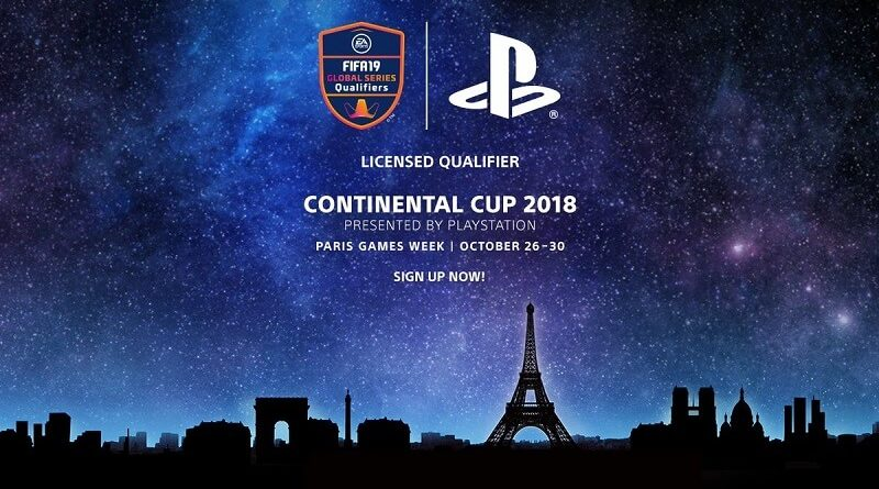 Continental Cup 2018 PlayStation per FIFA 19 Ultimate Team