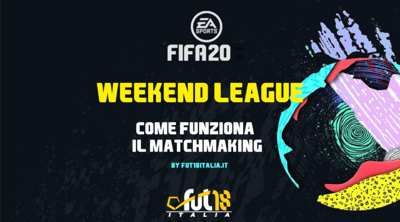 Come funziona il matchmaking in FIFA Ultimate Team FUT Champions Weekend League