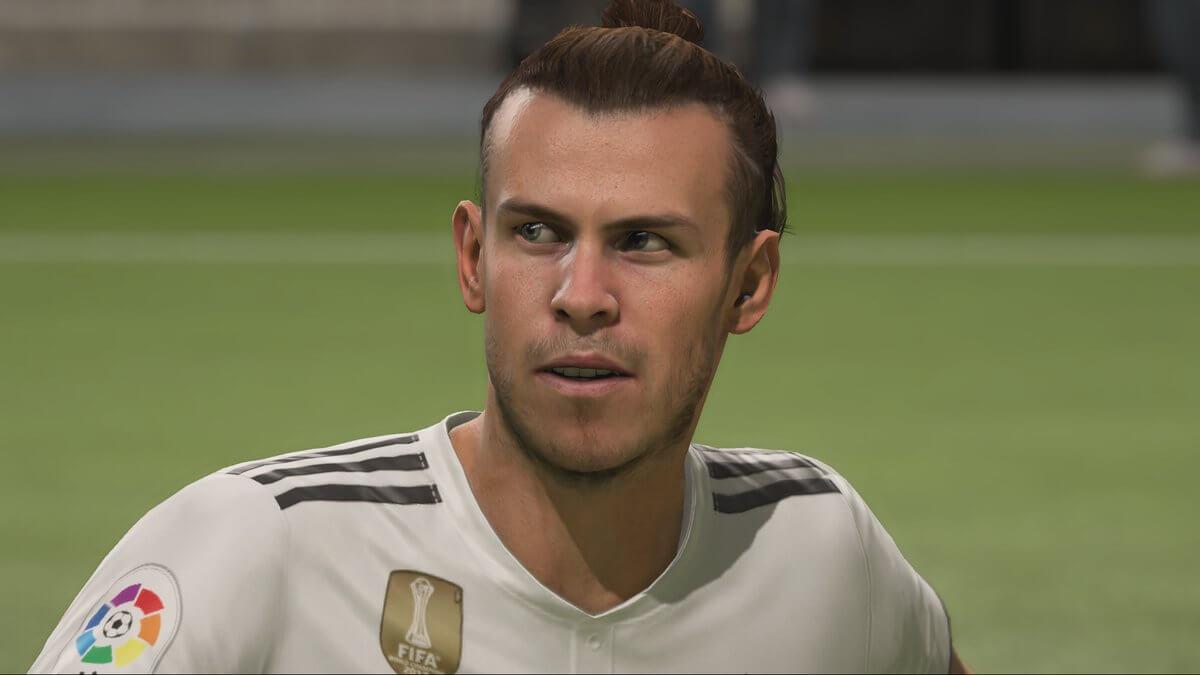 Bale nuovo volto grazie al face scan in FIFA 19