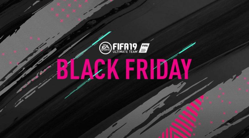 Black Friday 2018 su FIFA 19 Ultimate Team, si parte alle ore 15 del 23 novembre
