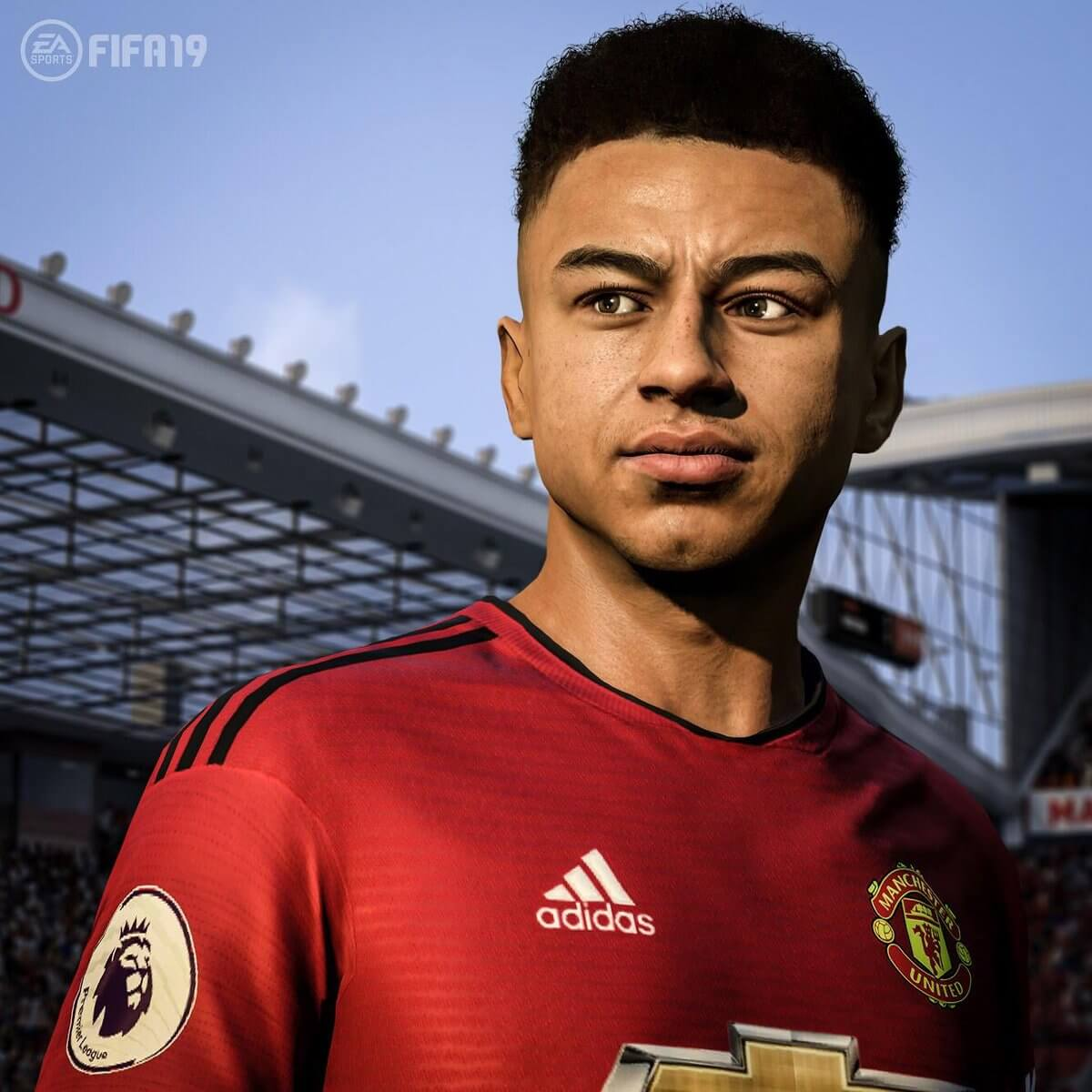Lingard nuovo volto grazie al face scan in FIFA 19