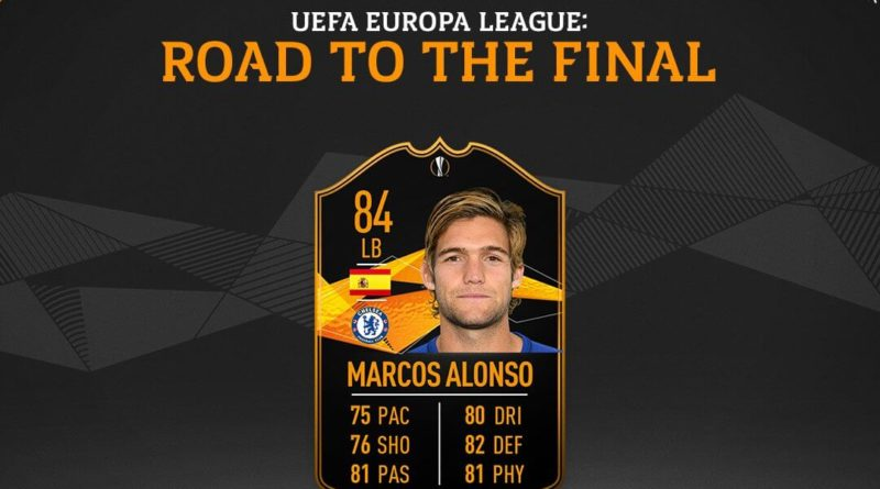 Marcos Alonso SBC Europa League Live
