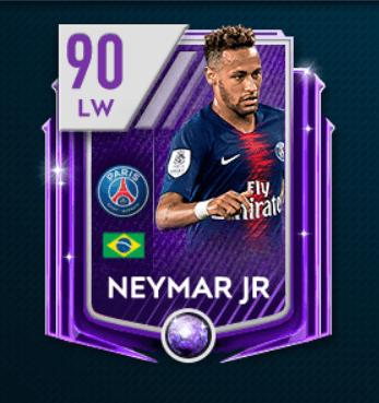 Neymar Jr overall 90 su FIFA Mobile