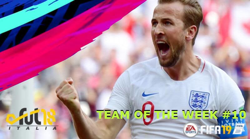 TOTW 10 in FIFA 19, Kane e Salah