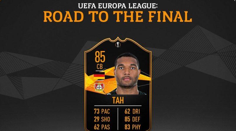 Tah Road to the Final Europa League SBC