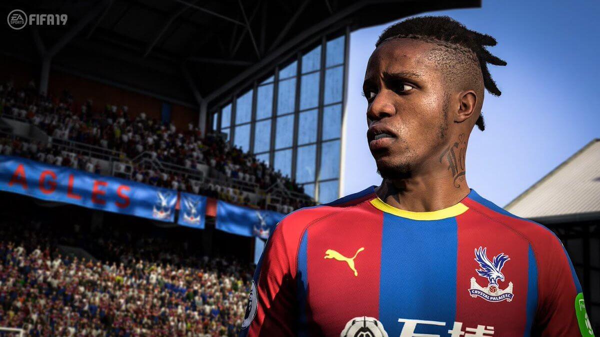 Zaha nuovo volto grazie al face scan in FIFA 19