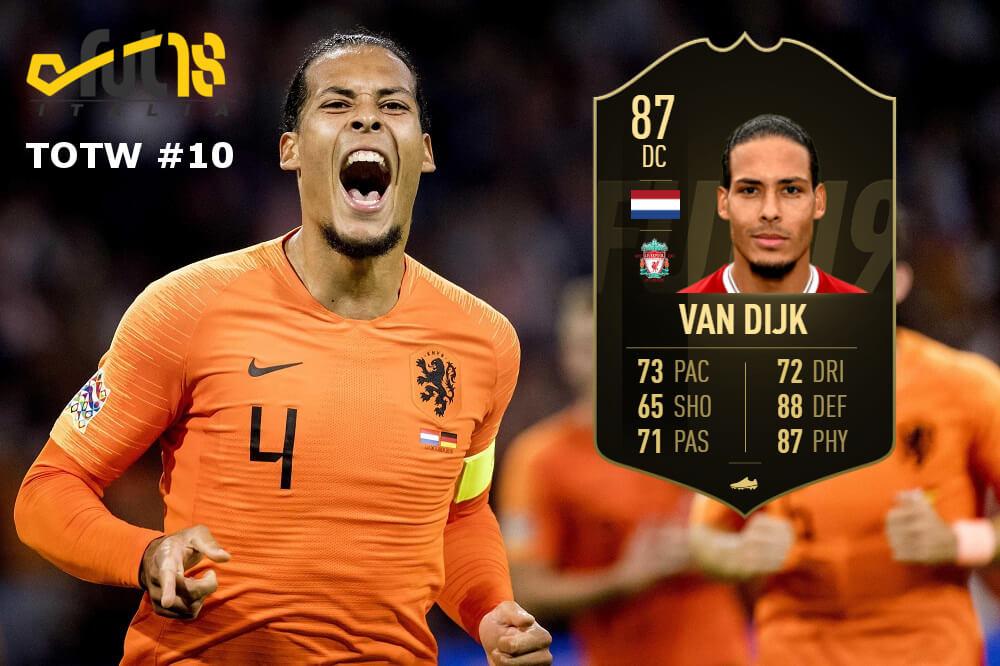 Van Dijk IF 87, gol al 90' con l'Olanda