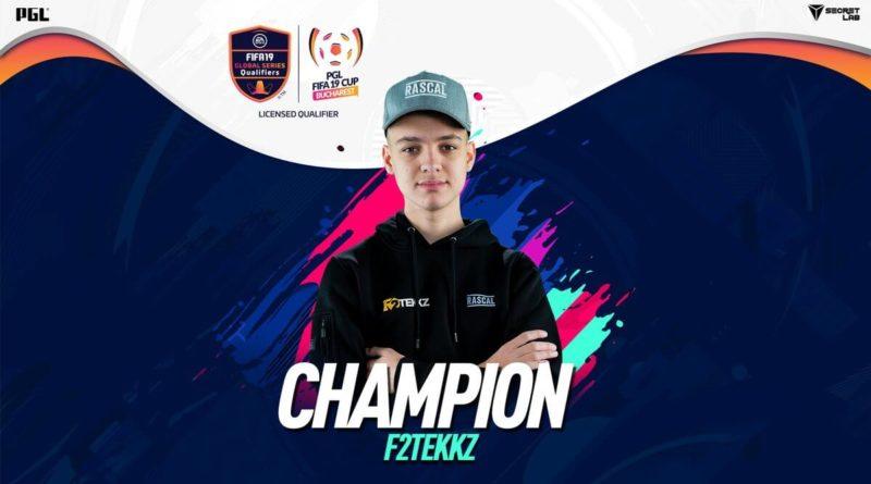 F2Tekkz vincitore del PGL FUT Champions Cup di Bucarest