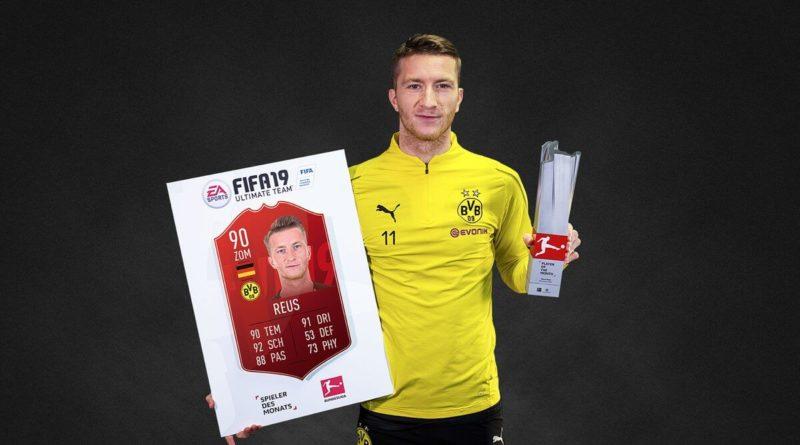 Marco Reus è il POTM della Bundesliga di novembre