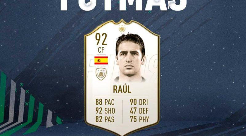 Raul Gonzalez Blanco Icon prime SBC