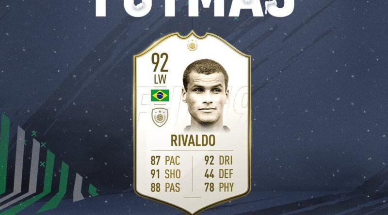 Rivaldo Icon prime disponibile tramite SBC
