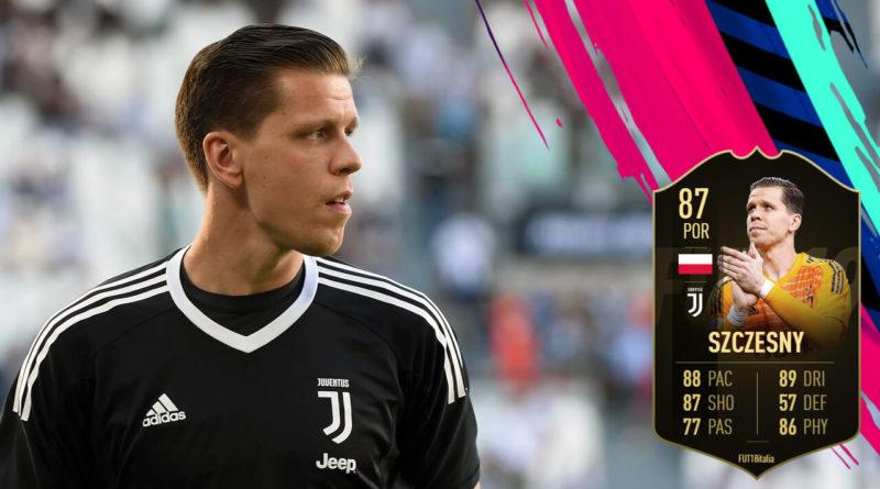Szczesny SIF 87 review in FIFA 19