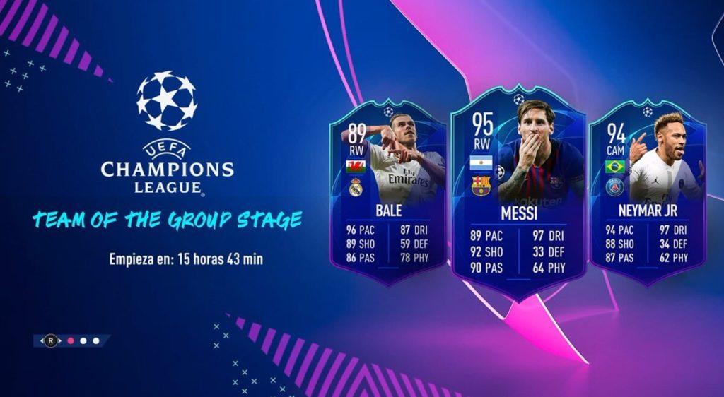 Gareth Bale, Leo Messi e Neymar Jr, sono i primi tre TOTGS svelati