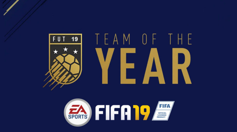 TOTY in FIFA 19