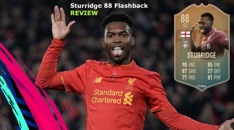 Sturridge 88 Flashback SBC review