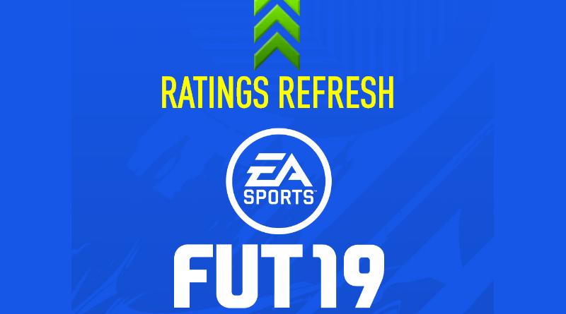 FIFA 19 winter upgrades - ratings refresh