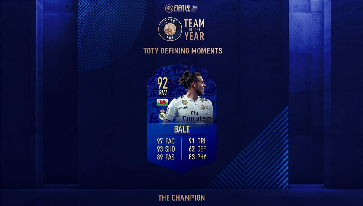 Gareth Bale TOTY - The Champion