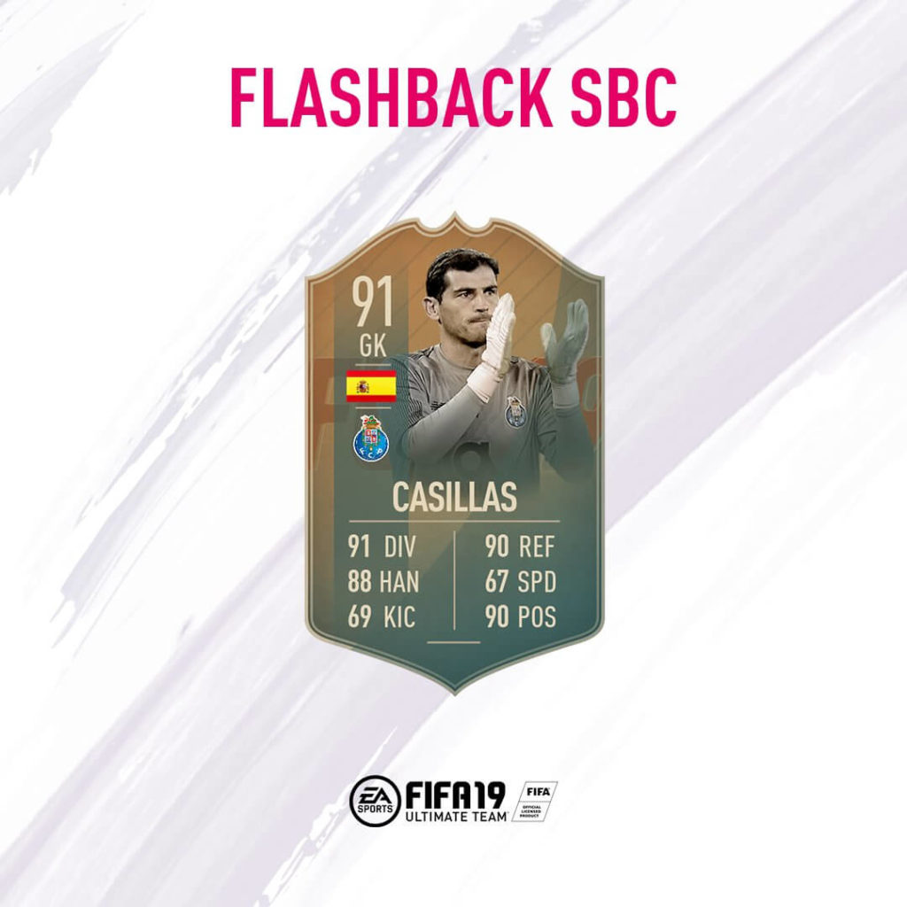 Iker Casillas 91 flashback SBC
