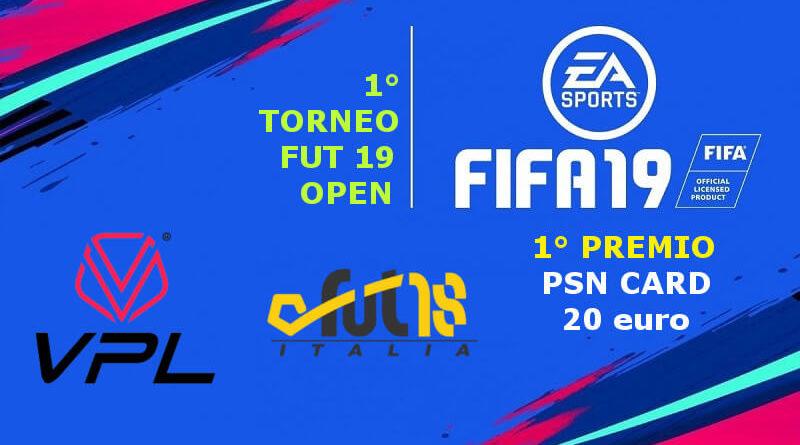 1° torneo FUT 19 gratuito - FUT18italia - Open League