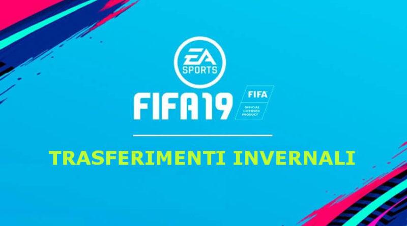 Primi trasferimenti invernali disponibili su FIFA 19 Ultimate Team
