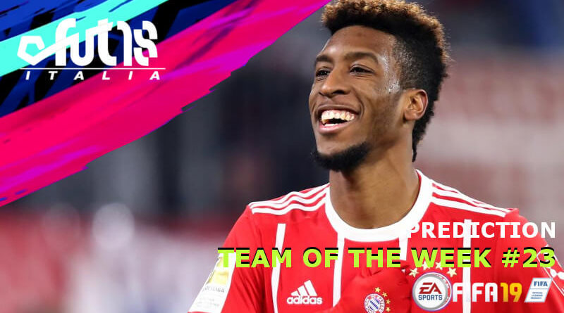 Coman nella prediction del TOTW 23