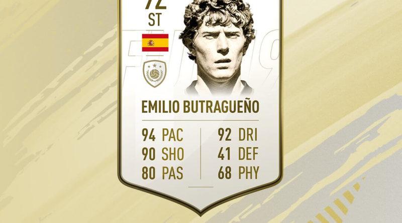 Emilio Butragueno Icon prime SBC