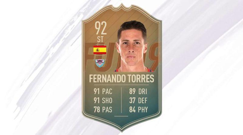 Fernando Torres 92 flashback SBC