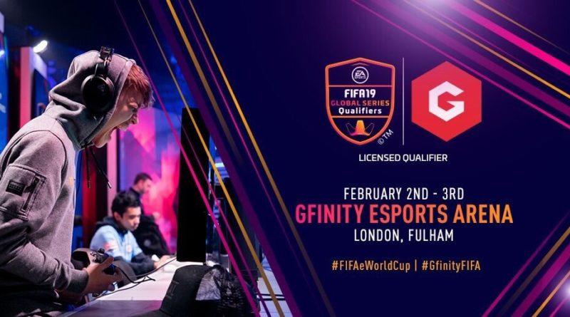 Gfinity LQE FUT 19 Global Series, 2 e 3 febbraio a Londra