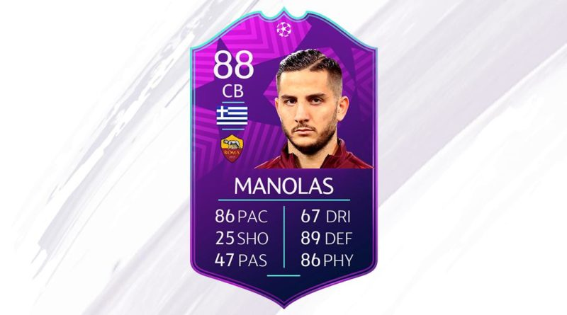 Manolas SBC UCL Moments