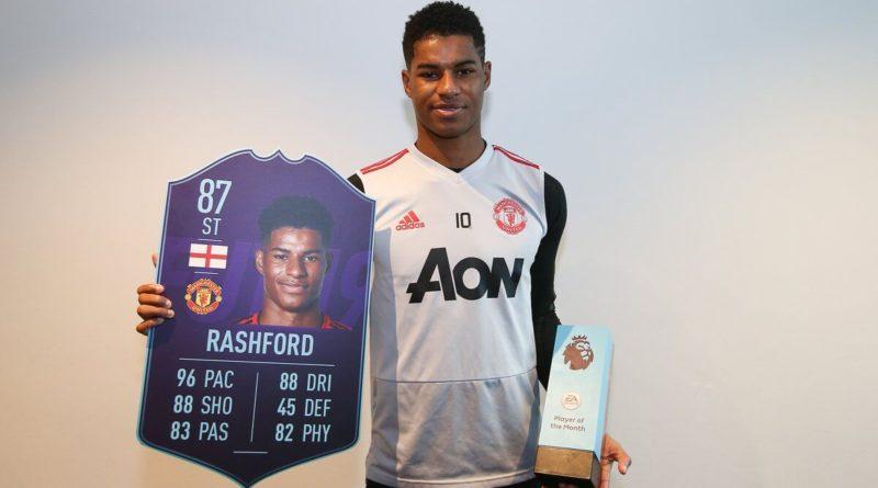 Marcus Rashford è il vincitore del POTM di gennaio della Premier League