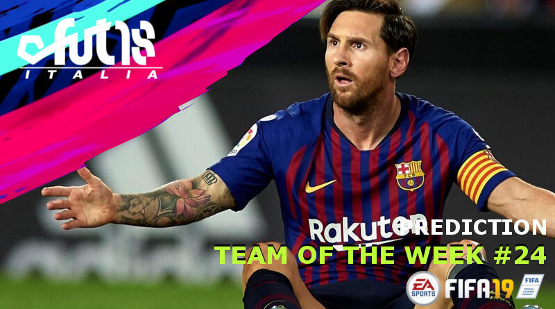 Leo Messi SIF 97 nel TOTW 24 - prediction