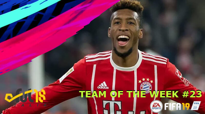 TOTW 23 con Coman IF in FIFA 19