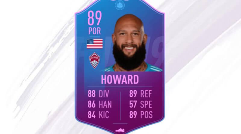 Tim Howard 89 Premium SBC