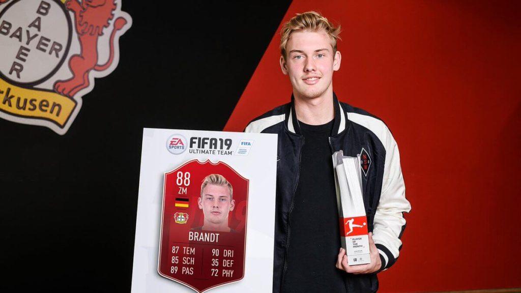 Julian brandt è il POTM della Bundesliga di febbraio