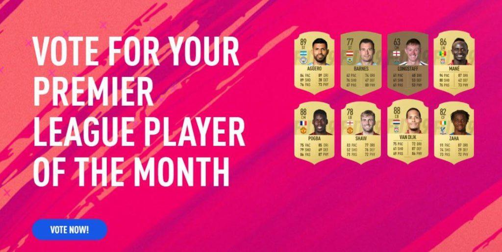 Candidati alla vittoria del POTM della Premier League di febbraio