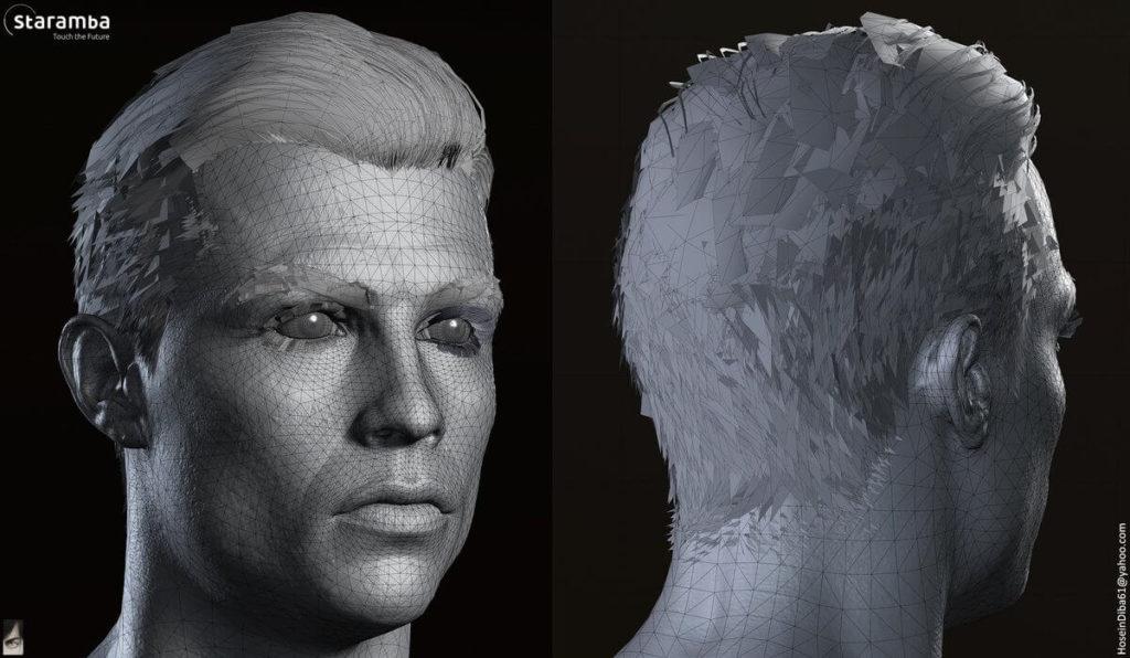Face Scan di Cristiano Ronaldo