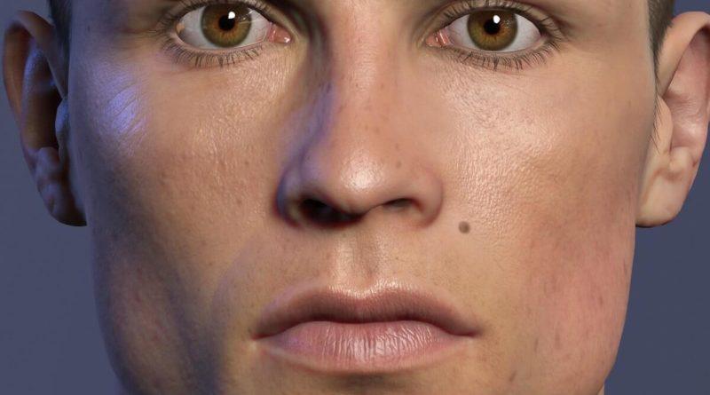Face Scan per FIFA 19 di Cristiano Ronaldo